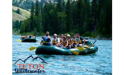 Whitewater Rafting Trip For One By Teton Whitewater 70