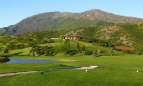18 Holes of Golf for Two People, Includes a Cart and Large Bucket of Balls (Up to $91 Value)