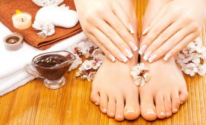 Organic Manicure & Pedicure ($40 Value)